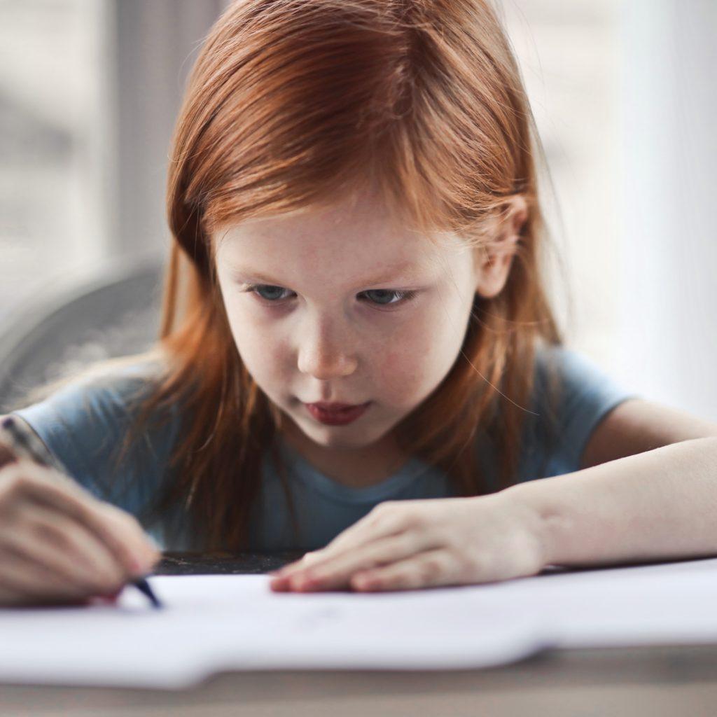 foto van Stress bij kinderen