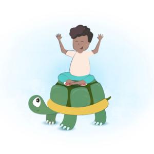 Stoere schildpadden – kleuters van gescheiden ouders