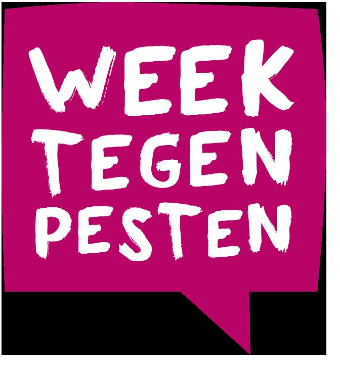 kinderen weerbaar tegen pesten logo week tegen pesten