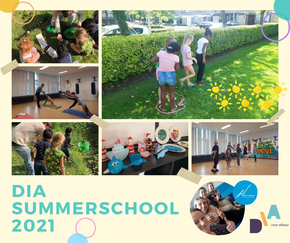 Zelfontwikkeling was nog nooit zo leuk! Summerschool 2021 in Rozenburgg